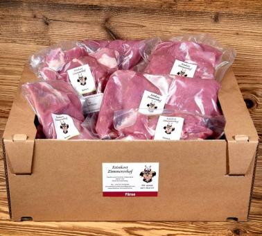 Färsen-Fleisch vom Rind Mischpaket-lieferbar im Herbst 2021