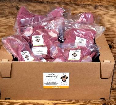 Jahrlingfleisch vom Rind Mischpaket